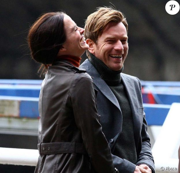 Eva Green et Ewan McGregor sur le tournage de The Last Word !