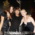 Virginie Ledoyen, Emma de Caunes et Julie Judd lors de la soirée présentation de la nouvelle collection De Grisogono à Paris le 8 octobre 2009