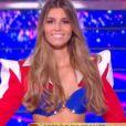 Miss Ile-de-France   :   Lara Lourenço   lors du défilé des 15 demi-finalistes sur le thème du 14 juillet - élection de Miss France 2021 le 19 décembre sur TF1