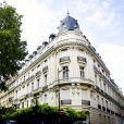 Illustrations de l'immeuble parisien dans lequel Jeffrey Epstein avait un appartement, avenue Foch dans le 16ème arrondissement de Paris. Le 14 août 2019. © JB Autissier / Panoramic / Bestimage