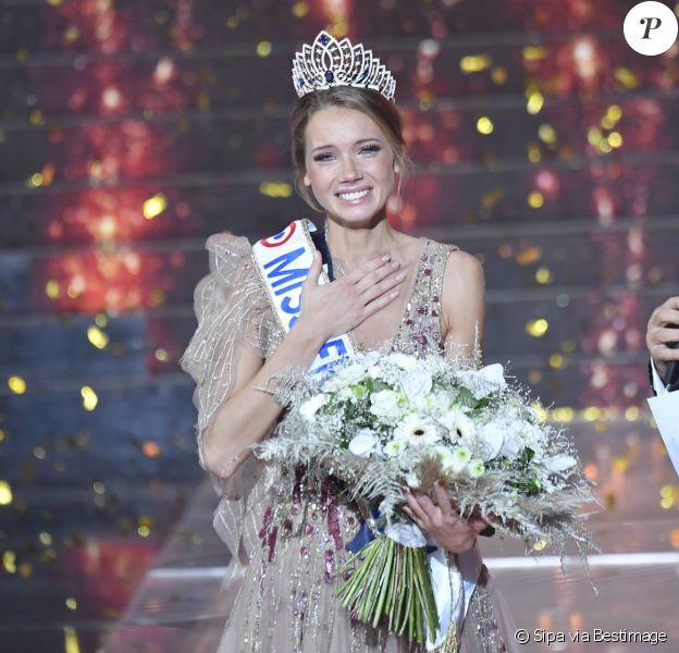 Miss Normandie : Amandine Petit gagnante de Miss France 2021.