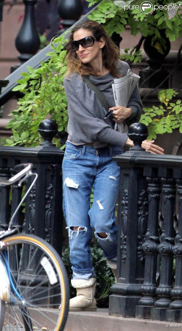 Sarah Jessica Parker à New York, le 9 octobre 2009