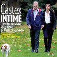 """Jean Castex en couverture de """"Paris Match"""" avec sa femme Sandra, à Matignon. Numéro du 24 décembre 2020."""