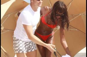 La superbe Naomi Campbell en bikini... se la coule douce avec son milliardaire sous le soleil !