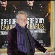 Gilbert Rozon lors du spectacle de Gregory Charles à Paris le 12 octobre 2009