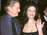 Catherine Zeta-Jones : Déclaration d'amour et baiser à son mari Michael Douglas