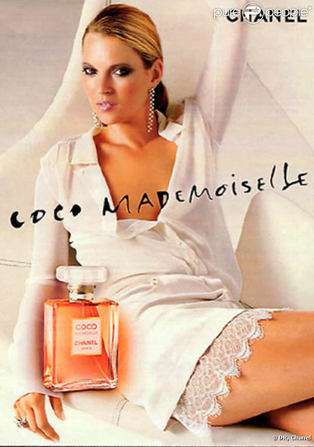 kate moss pour coco mademoiselle. Black Bedroom Furniture Sets. Home Design Ideas
