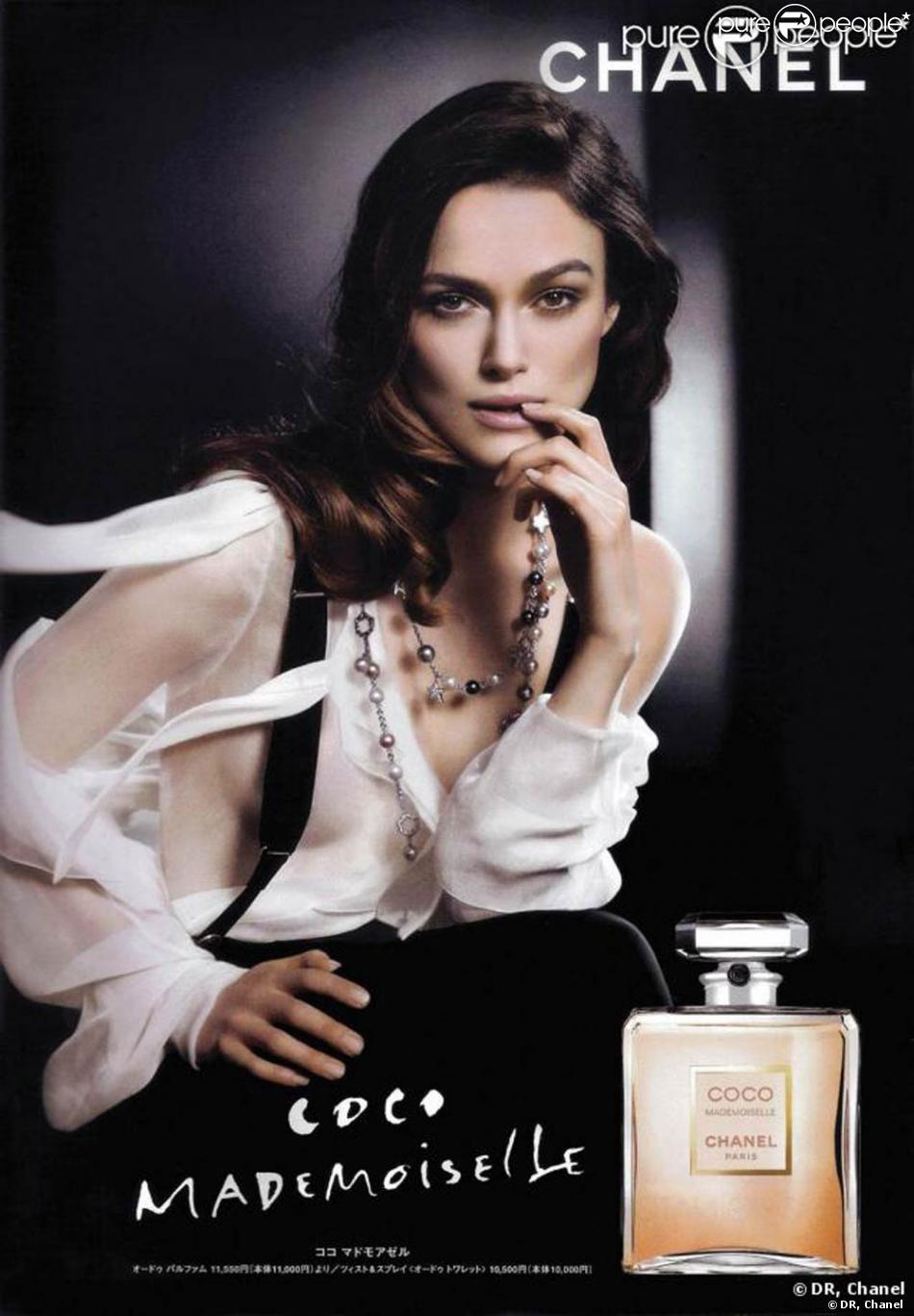 l 39 envo tante keira knightley pose pour coco mademoiselle. Black Bedroom Furniture Sets. Home Design Ideas