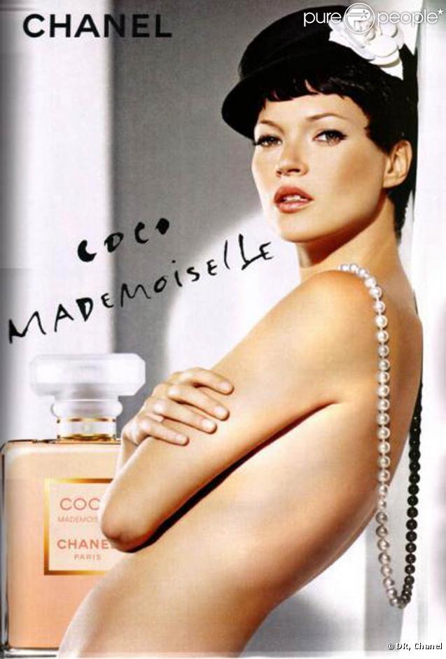 kate moss repr sente le parfum coco mademoiselle. Black Bedroom Furniture Sets. Home Design Ideas