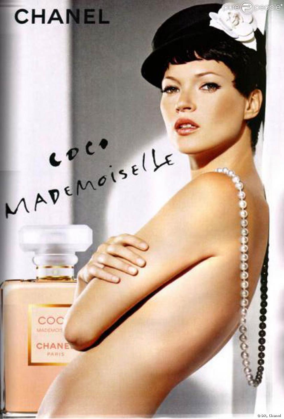 kate moss repr sente le parfum coco mademoiselle. Black Bedroom Furniture Sets. Home Design Ideas