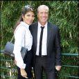 Jean-Claude Darmon et Hoda, sa compagne, se sont rendus le 13 octobre 2009 au musée Grévin pour la cérémonie d'entrée de leur amie Rachida Dati.