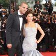 Tony Parker et Eva Longoria lors du 62e Festival de Cannes, le 15 mai 2009.