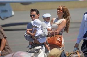 Jennifer Lopez à la Maison Blanche : Sa petite Emme est le sosie... de son papa ! Incroyable !
