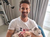 Romain Grosjean : photos de sa main brûlée sans bandages