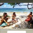"""Alix et Mathieu, aventurier de """"Koh-Lanta, Les 4 Terres"""", profitent d'un voyage à deux en Guadeloupe."""