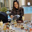 Vincent Queijo, sa fiancée Rym Renom et leur fille Maria-Valentina s'installent à Dubaï.