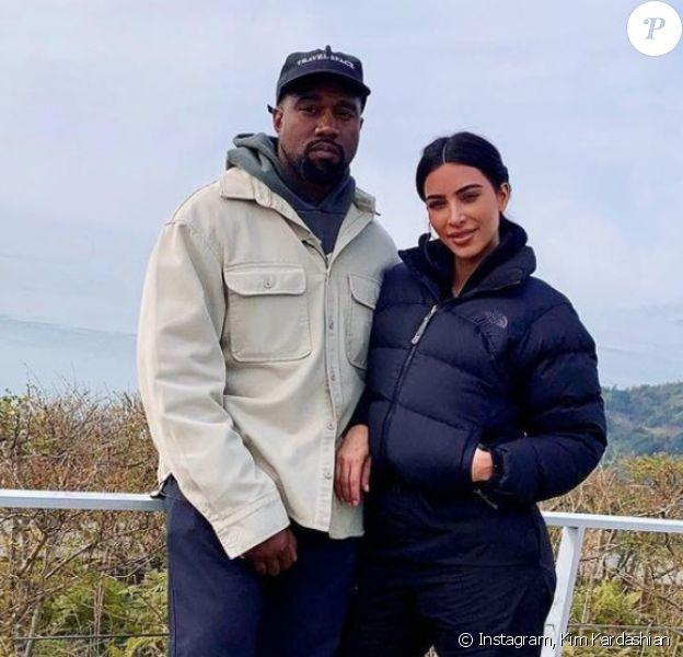 Kim Kardashian et Kanye West, l'automne dernier.