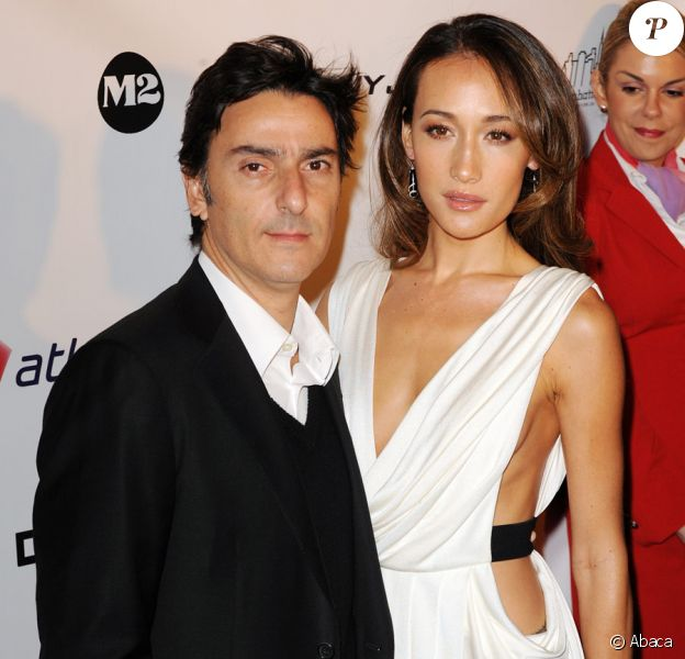 Yvan Attal et Maggie Q lors de la première à New York du film New York, I Love You le 14 octobre 2009