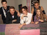 Romeo Beckham : Blond platine et premier tatouage, David et Victoria très fiers
