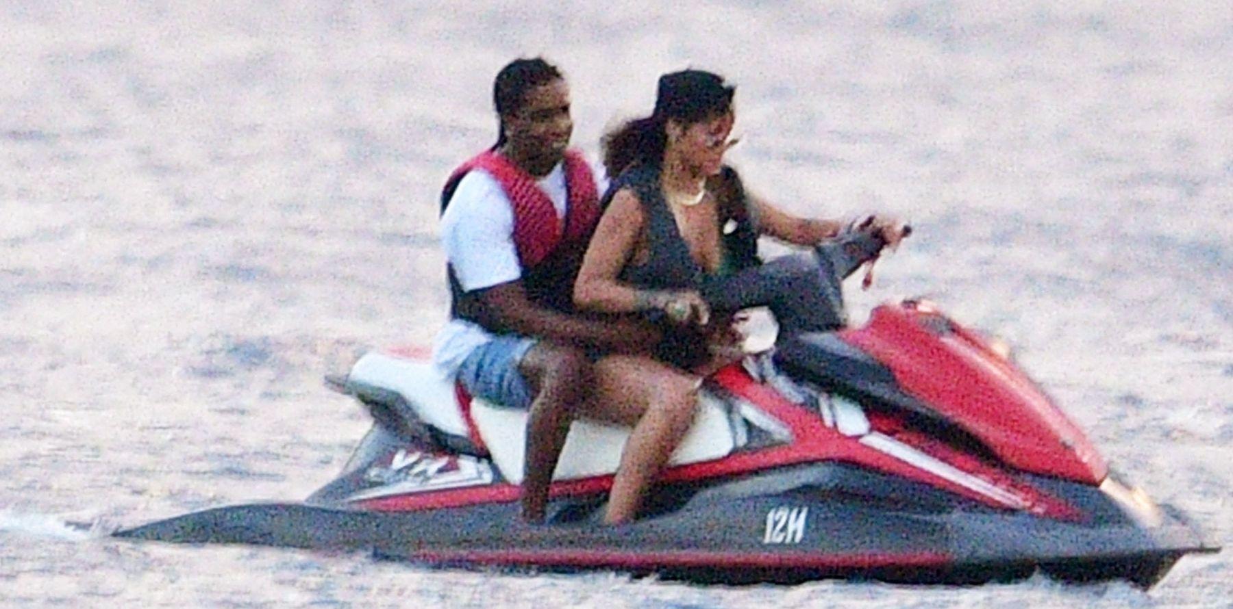 Rihanna et A$AP Rocky en couple : le baiser qui officialise