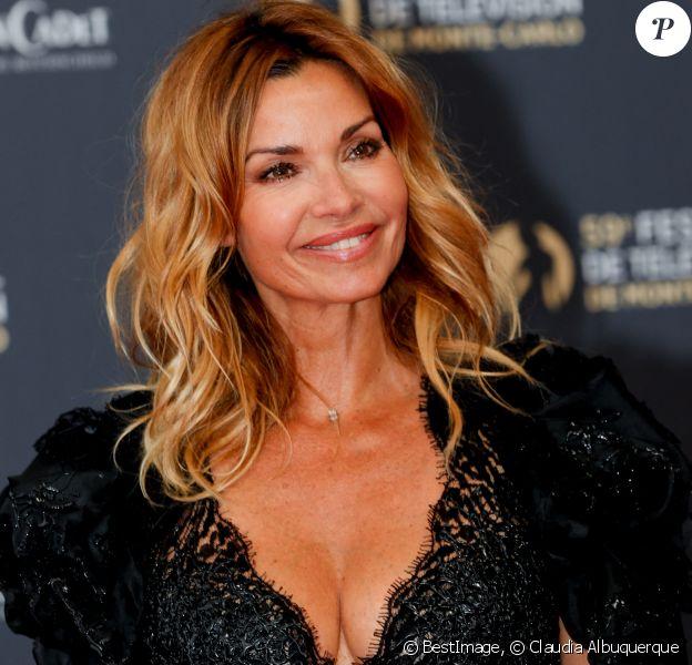 Ingrid Chauvin au photocall de la soirée d'ouverture du 59ème festival de télévision de Monte Carlo. © Claudia Albuquerque / Bestimage