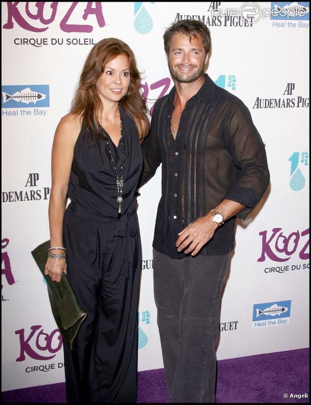 Brooke Burke et David Charvet pour l'inauguration du spectacle Kooza