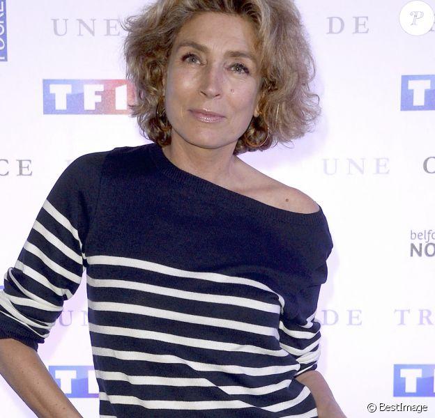 """Marie-Ange Nardi - Avant-première du film """"Une chance de trop"""" au cinéma Gaumont Marignan à Paris."""