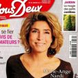 """Couverture du magazine """"Nous deux"""", du 26 janvier 2021"""