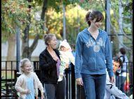 Jennifer Garner prend bien soin de ses adorables choupettes... et se moque de son look !