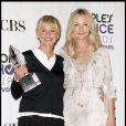 Ellen DeGeneres et Portia de Rossi affichent leur bonheur sur tapis rouge en mars 2009.