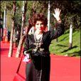 L'actrice Gina Lollobrigida, lors du 4e Festival du Film de Rome, le 16 octobre 2009 !