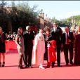 Pierre Cardin, Fanny Lu, Jacques Diouf, Carla Fracci, Gina Lollobrigida, Carl Lewis, Albano Carrisi, Valentina Vezzali et Elisa Isoardi, lors du 4e Festival du Film de Rome, le 16 octobre 2009 !