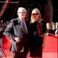 Pierre Cardin et Fanny Lu, lors du 4e Festival du Film de Rome, le 16 octobre 2009 !
