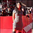 La belle chanteuse Anggun, lors du 4e Festival du Film de Rome, le 16 octobre 2009 !