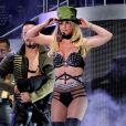 Britney Spears en concert à Scarborough, Royaume-Uni le 17 août 2018.