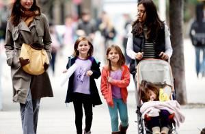 Christy Turlington : Quand elle joue à saute-mouton avec son adorable fille... elle est carrément lookée !