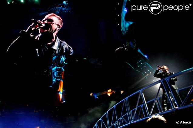 U2 en concert lors de la tournée U2 360°