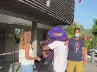 """Laeticia Hallyday et Jalil Lespert réunis, baisers passionnés à l'aéroport : """"Je t'aime tellement"""""""