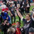 Tom Brady a remporté son septième Super Bowl au Raymond James Stadium à Tampa, le 7 février 2021. Photo by Kevin Dietsch/UPI/ABACAPRESS.COM