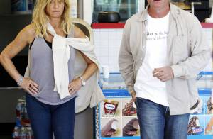 Goldie Hawn et Kurt Russell, toujours aussi amoureux... ne cèdent pas à la tentation !