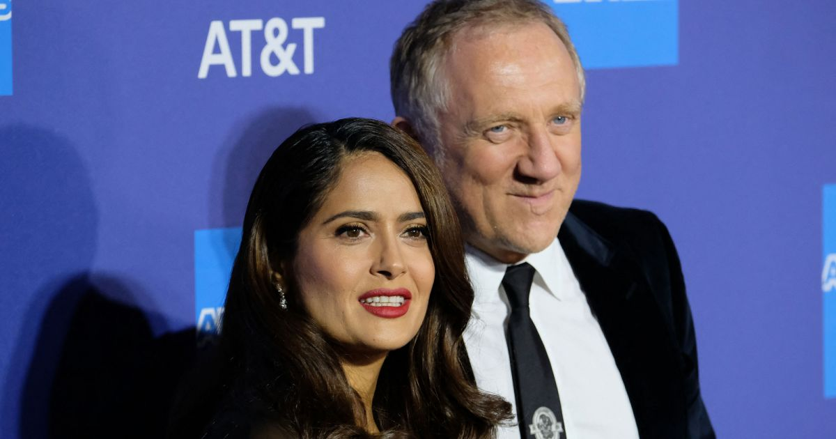 Salma Hayek a-t-elle épousé François-Henri Pinault pour son argent ? Elle répond aux critiques - Pure People