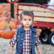 Découvrez le costume d'Halloween de l'adorable choupette de Jessica Alba !