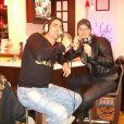 Grégory Basso et Laurent Argelier, le 24 octobre 2009 sur Hit & Sport