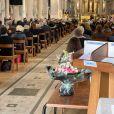 Exclusif - Obsèques de Lise Toubon en l'église Notre-Dame-des-Champs à Paris. Le 4 mars 2021