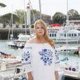 """Ariane Seguillon - Photocall de la série """"Demain nous appartient"""" lors de la 21ème édition du Festival de la Fiction TV de la Rochelle. le 14 septembre 2019 © Patrick Bernard / Bestimage"""