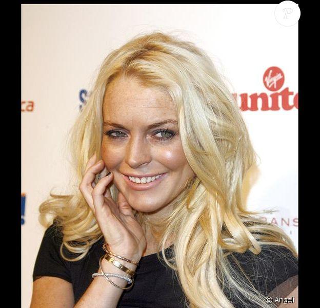 Lindsay Lohan à la soirée de charité Rock the Kasbah au profit de Vrigin Unite et de la fondation Eve Branson le 26 octobre 2009 à Los Angeles
