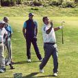Dominique Larretche (à droite) donnait des cours de golf au Golf du Médoc Resort, au Pian-Medoc, près de Bordeaux.