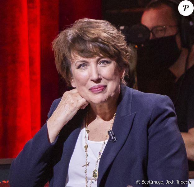 """Exclusif - Roselyne Bachelot, ministre de la Culture - Enregistrement de l'émission """"On Est Presque En Direct"""" © Jack Tribeca / Bestimage"""