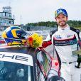 Le prince Carl Philip de Suède, lors de la Porsche Carrera Cup Scandinavia à Falkenberg, 18 juillet 2020.