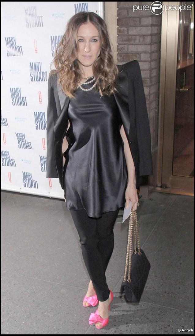 Sarah Jessica Parker tourne en ce moment le deuxième film inspiré de la série  Sex and the City .